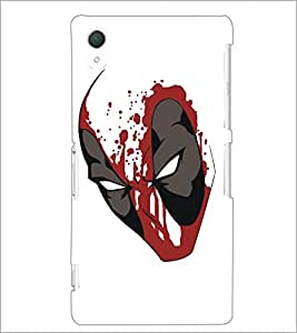 PrintDhaba Mask D-5125 Back Case Cover for SONY XPERIA Z2 (Multi-Coloured)