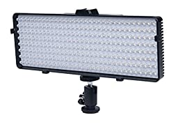 256 LED Video Light For Sony Alpha SLT-A33, A35, A55, A58, A65, A7, A7R, A77, A77II, A99, A3000, A5000, A6000, DSLR330L, NEX-3N, NEX-5T, NEX-6, NEX-7K, NEX-F3 Digital SLR Cameras