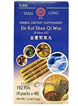 Jin Kui Shen Qi Wan 192 pills by Tang Long Tea Pills