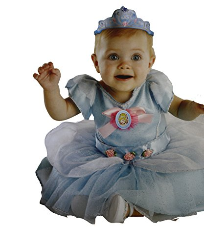 Disney Baby My First Costume Cinderella with Sof Tiara 6-12 Months Blue