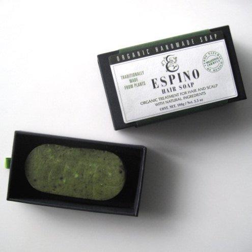 ESPINO エスピノ オーガニック ヘアトリートメント ソープ 100g