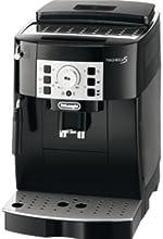 DeLonghi ECAM 22.110.B Kaffee-Vollautomat  (1.8 l, 15 bar, 1450 Watt, Dampfdüse) glossy black