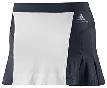 Adidas Ladies Stella McCartney Barricade Tennis Skort Skirt-LegendBlue White by adidas