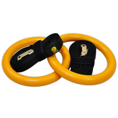 Gymnastic Rings - Premium Heavy Duty Rings for Full Body Strength and Crossfit Training