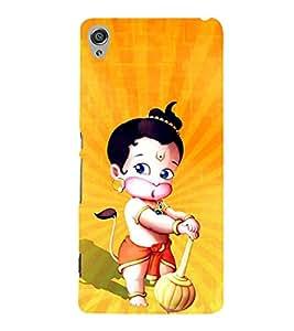 Little Hanuman 3D Hard Polycarbonate Designer Back Case Cover for Sony Xperia XA :: Sony Xperia XA Dual