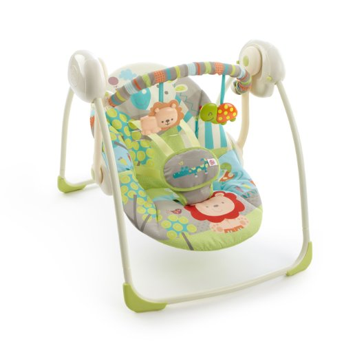 Bright Starts Portable Swing, Up Up & Away