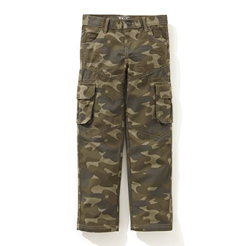 La Redoute Boys Camouflage Print Combat Trousers Other Size 9 Years - 51 In. front-938011