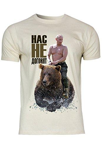 METRA -  T-shirt - Maniche corte  - Uomo natur XX-Large