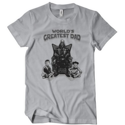 Worlds Greatest Father Vader TShirt Skywalker Princess Luke Star Leia Wars Darth