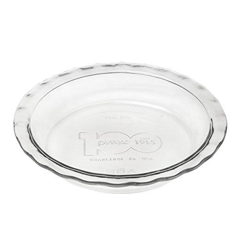 PIE PLATE PYREX 100YR by PYREX MfrPartNo 1119189 (Pie Plates Corning compare prices)