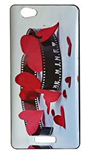 Vcare Shoppe Printed Back Case Cover for Gionee Marathon M2