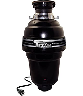 Titan T-1060 1¼ HP Premium Food Waste Disposer