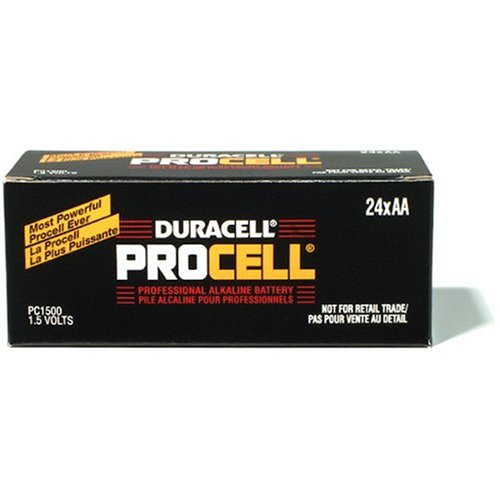 Duracell Procell AA Batteries, 24-Count