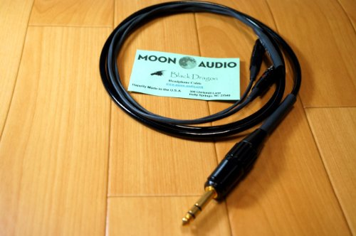Moon Audio Black Dragon V2 Audeze Lcd-2 Or Lcd-3 Replacement Upgrade Cable