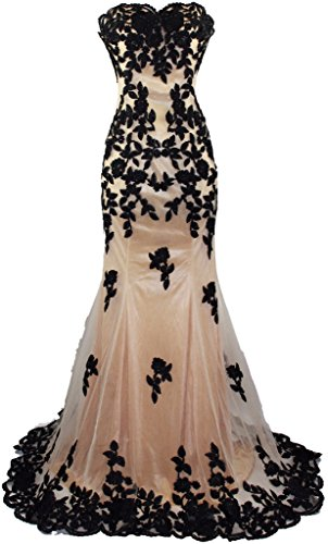 Meier-Womens-Strapless-Lace-Bead-Formal-Evening-Gown