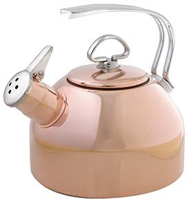 Chantal Copper Classic Teakettle-1.8 Quart by Chantal