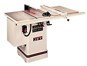 Jet 708436k 10 inch tilting arbor cabinet table saw for 10 jet table saw
