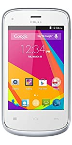 BLU Dash JR K Smartphone - Unlocked - White