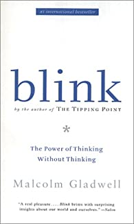 Thin slicing on blink gladwell