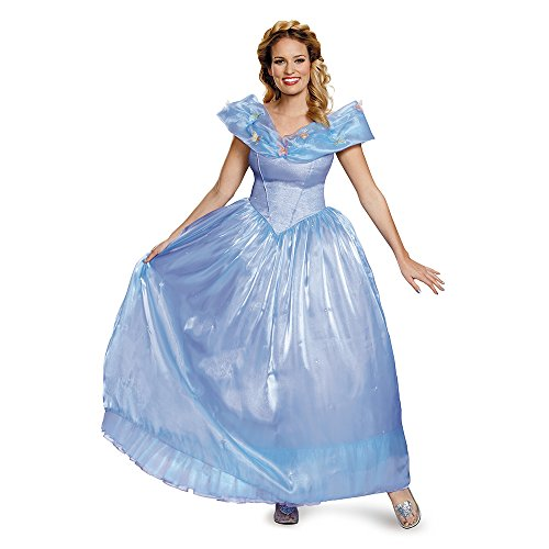 Disguise Women's Cinderella Movie Ultra Prestige Adult Costume