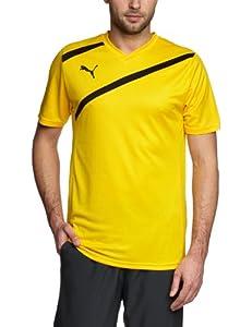 PUMA Herren Trainingsshirt Esito 3, team yellow-black, S, 700993 07