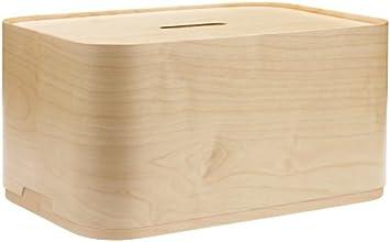 Vakka Staubox Schichtholz, big 450 x 230 x 300 mm Schichtholz-Stoßkante
