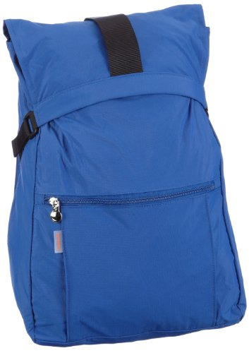 Samsonite Faltbarer Rucksack TRAVEL ACCESSOR. V CYLINDER FOLDING BACKPACK DARK BLUE