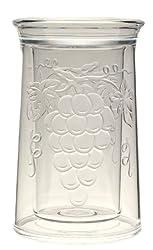 Jubilee Acrylic Embossed Grape Iceless Wine Cooler