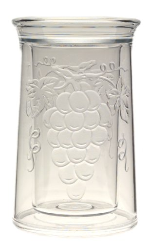 Favor Jubilee Acrylic Embossed Grape Iceless Wine Cooler online