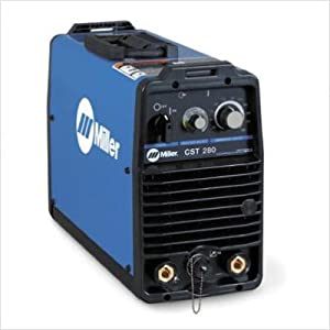 220-230V Stick/TIG Welder 280A with Tweco Style Connectors by Miller Electric Mfg Co