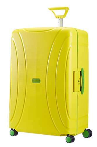American Tourister Lock'n'roll Spinner 75/28, 4 Ruote, 106 litri, Sunshine Yellow
