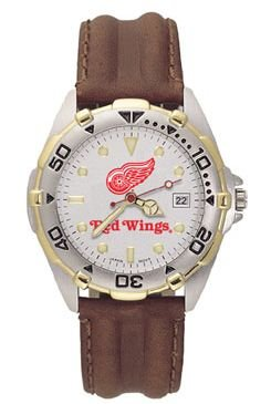 Detroit Red Wings All Star Mens (Leather Band)