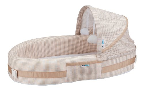 Discover Bargain LulyBoo Baby Lounge to Go, Natural Beige
