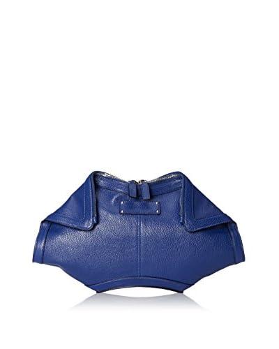 Alexander McQueen Women's Demanta Grande Clutch, Ultramarine