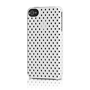 Incase Incase Perforated Snap Case V2 for iPhone 4 - 1 Pack - Retail Packaging - White