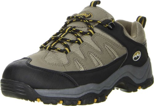 ConWay Damen Herren Wanderschuhe Trekkingschuhe oliv, Größe:38;Farbe:Oliv