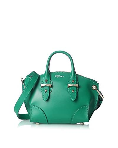 Alexander McQueen Women's Mini Legend Satchel, Emerald