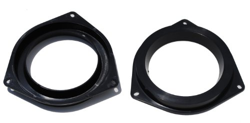 Toyota Aftermarket 6.5-Inch Plastic Speaker Adapter (Black)