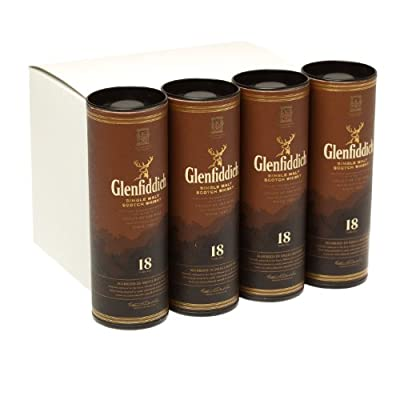 Glenfiddich 18 year old Single Malt Scotch Whisky 5cl Miniature - 12 Pack from Glenfiddich
