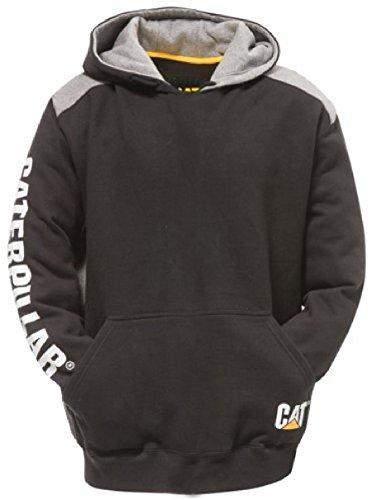caterpillar-mens-logo-panel-hooded-sweashirt-hoodie-black