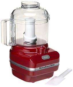 KitchenAid KFC3100ER Chef Series 3-Cup Food Chopper, Red by KitchenAid