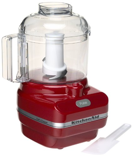 Kitchenaid Kfc3100er Chef Series 3 Cup Food Chopper Red Reviews Of The Best Kitchenaid