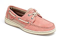 Sperry Womens Bluefish 2 Eye Rose 7