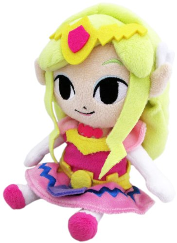 "Little Buddy Legend of Zelda Wind Waker Princess Zelda 8"" Plush"