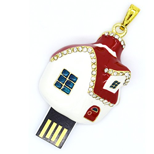 tomax-house-with-red-roof-made-of-metal-as-a-usb-flash-drive-with-64gb-usb-stick-flash-drive