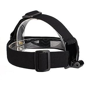 Head Strap Mount Headband Holder for GoPro Hero 1 2 3 3+ Adjustable Rubber