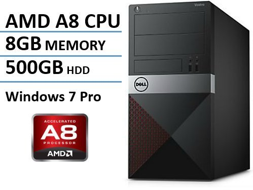 Newest Dell Vostro Premium Business Desktop, AMD A8-7600
