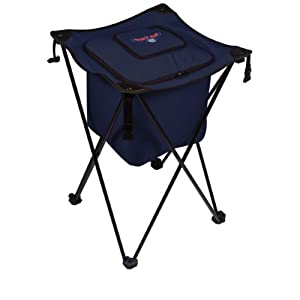 NBA Atlanta Hawks Sidekick Insulated Portable Cooler with Integrated Legs, Navy by Picnic Time