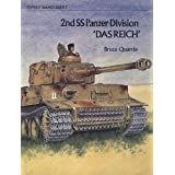 "Second S.S.Panzer Division ""Das Reich"" (Vanguard)by Bruce Quarrie"