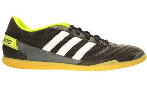 pretty nice 3ec00 fc2cf Mens Adidas Freefootball SuperSala Indoor Soccer Shoes Black White Solar  Slime F32539 Size 9 5